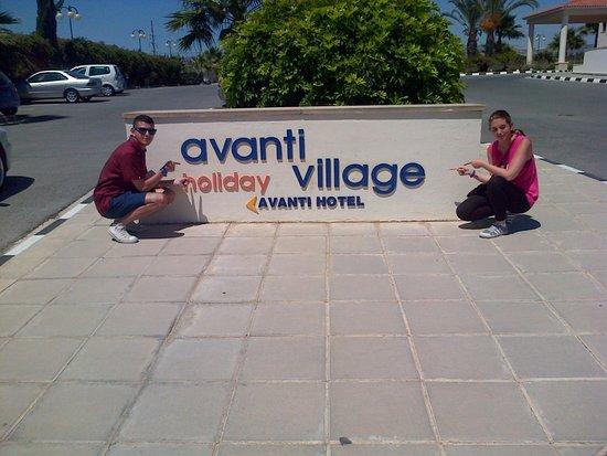 Avanti Holiday Village: The sign for Avanti Village