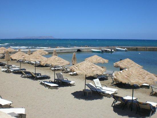 Golden Star Hotel : la petite plage