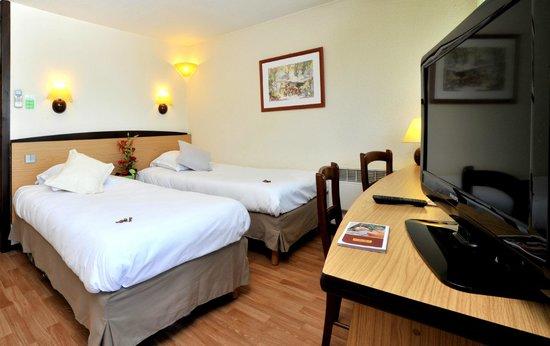 Hotel balladins Bordeaux Merignac: Chambre 2 lits simples