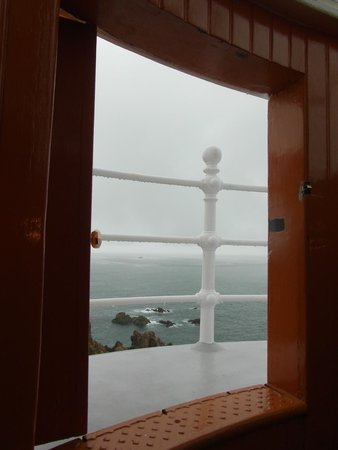 Corbiere Lighthouse (La Corbiere): Looking out