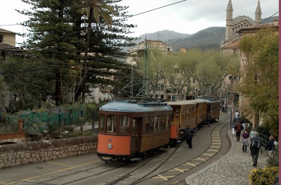 Straßenbahn Sóller: The tram