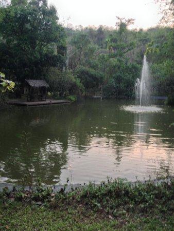 River Kwai Resotel : vue sur leparc