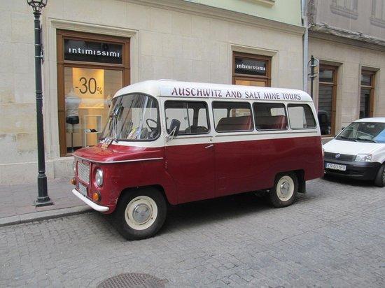 Ulica Florianska : Some older transport