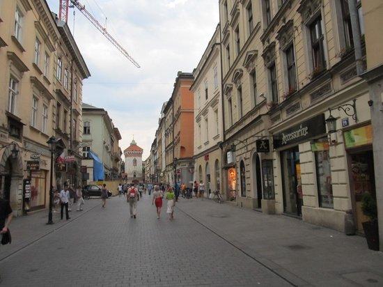 Ulica Florianska : Mainly a pedestrianised area