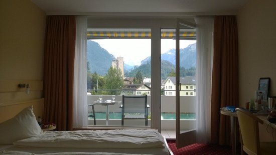 Aparthotel Goldey: Room with towards Jungfrau