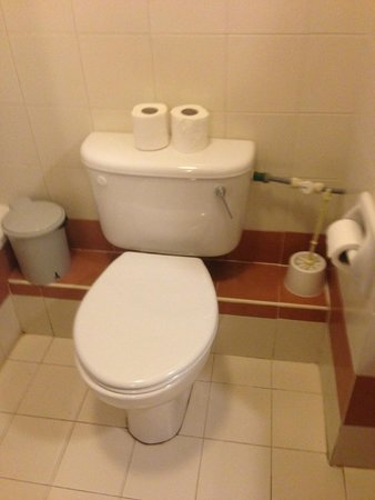 The St. George's Park Hotel: Toilet