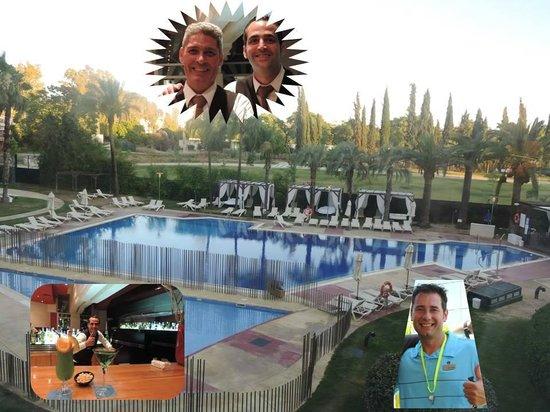 Silken Al-Andalus Palace Hotel : Quelle équipe !!! :-)
