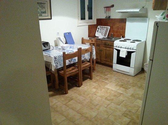 Marika: Kitchen area