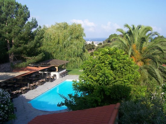 Hôtel Restaurant Bartaccia : vue de la chambre duplex