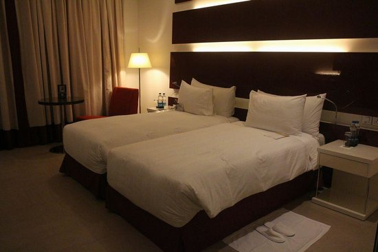 WelcomHotel Dwarka : ベッド