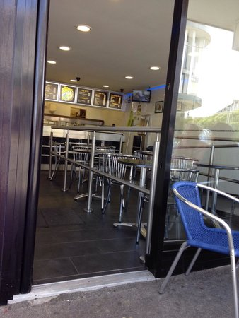 The Chippy: Nice and clean premises