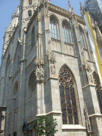 Historisches Zentrum von Wien: фрагмент собора Святого Штефана