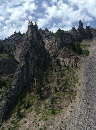 Wizard Island: Lava Tube formation