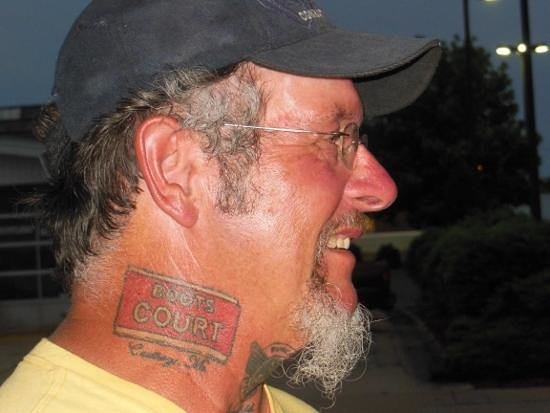 "Boots Court Motel: Ron ""Tattoo 66 Man"" Jones"