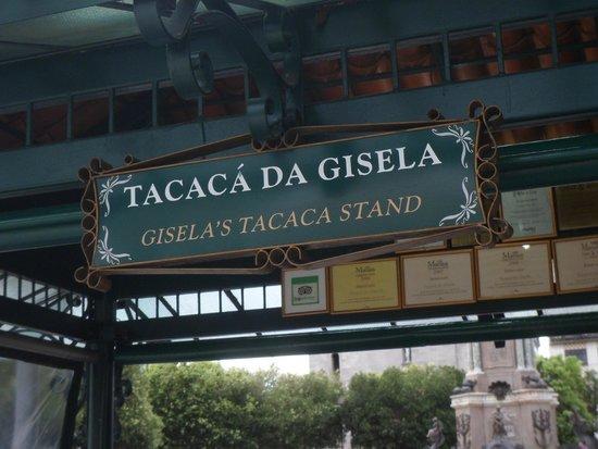 Tacaca da Gisela: Placa