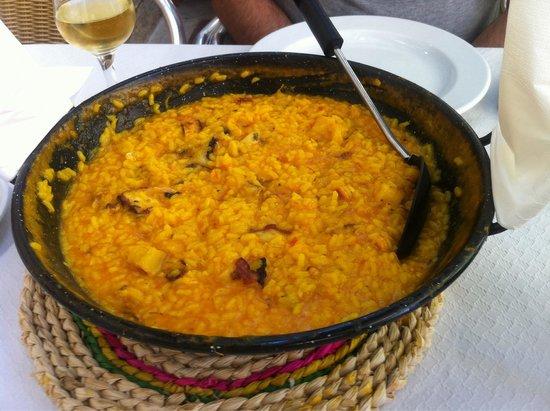 O Porton : Buenísimo el arroz con pulpo y bacalao