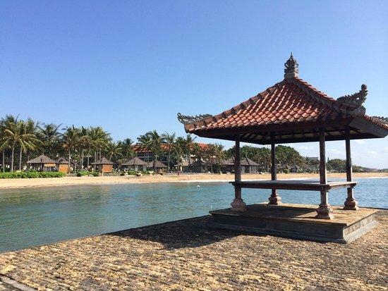 Conrad Bali: Looking back at resort and beachfront