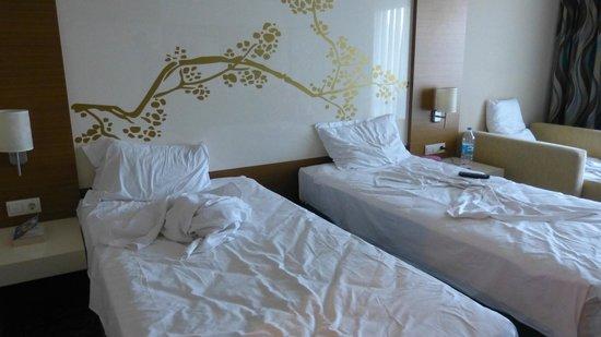 Venosa Beach Resort & Spa : Łóżka