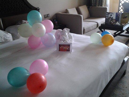 Hilton Ras Al Khaimah Resort & Spa: lovely surprise