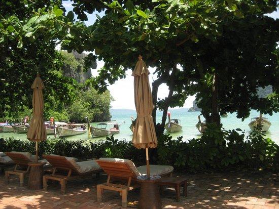 Rayavadee Resort : uitzicht op 1 vd 3 stranden