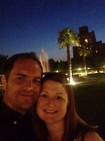 Savoia Hotel Regency : Outside the hotel
