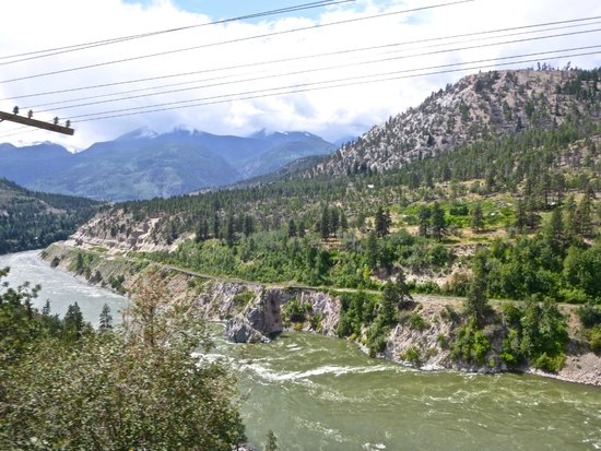 The Rocky Mountaineer Train: along the rivers