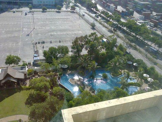 Radisson Blu Cebu: view from room
