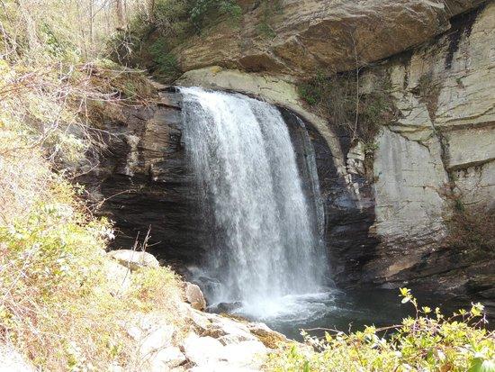 Looking Glass Falls: Looking Glalss Falls