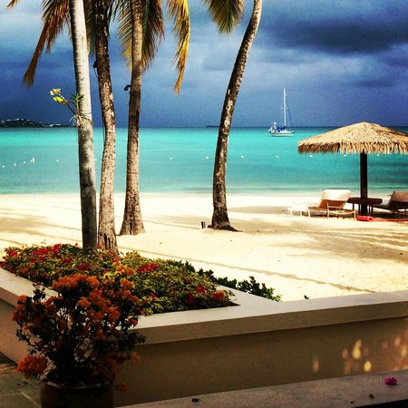 Jumby Bay, A Rosewood Resort: From breakfast