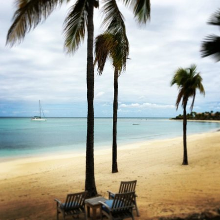 Jumby Bay, A Rosewood Resort: Great place to hang out