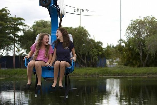 Shell Factory & Nature Park: Ride The Soaring Eagle Zip Line! Only $8.50pp includes tax!