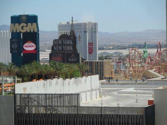 ARIA Resort & Casino: The view