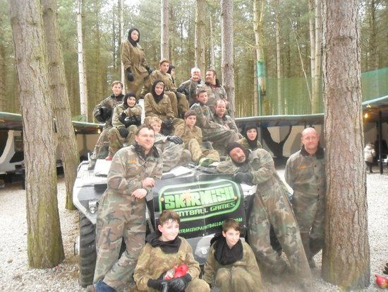 Skirmish Paintball Games Nottingham Photo