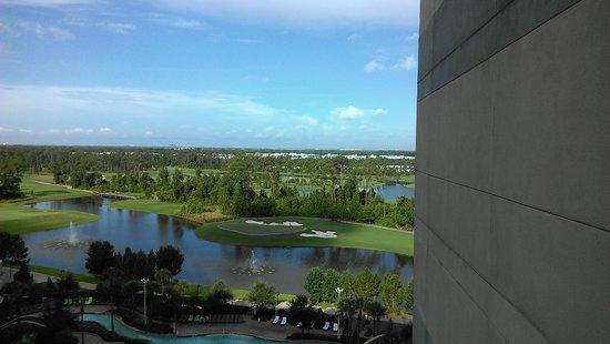 Hilton Orlando Bonnet Creek: Room 1037 View