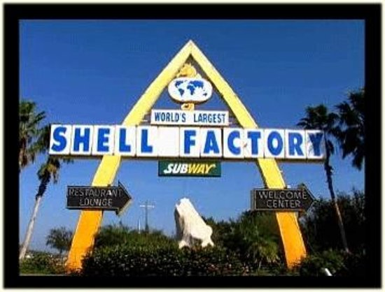 Image result for logo for shell factory and Nature Park