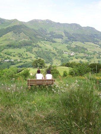 Hotel Le Gerfaut : vue de la vallée
