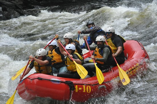 Northeast Whitewater - Day Tours: Getting ready to get wet!