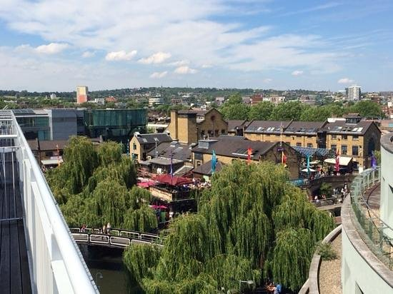 Holiday Inn London - Camden Lock: Room with a view