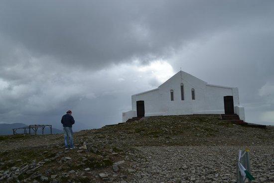 St. Patrick's oratory on the summit of Croagh Patrick