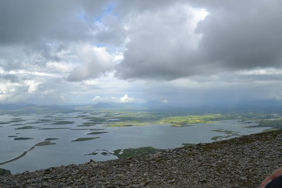 Croagh Patrick: Absolutely gorgeous views for miles and miles