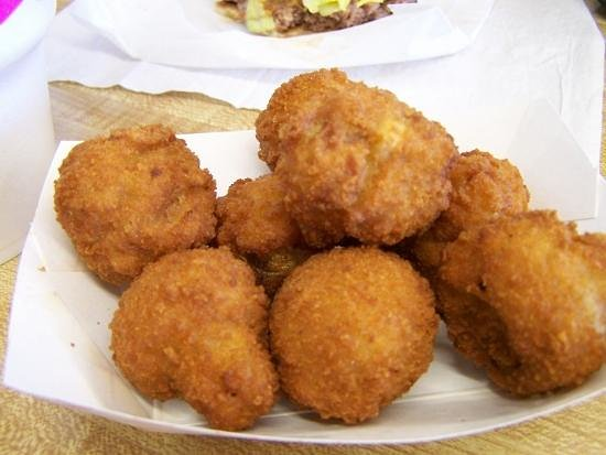 Ku-Ku: Fried mushrooms