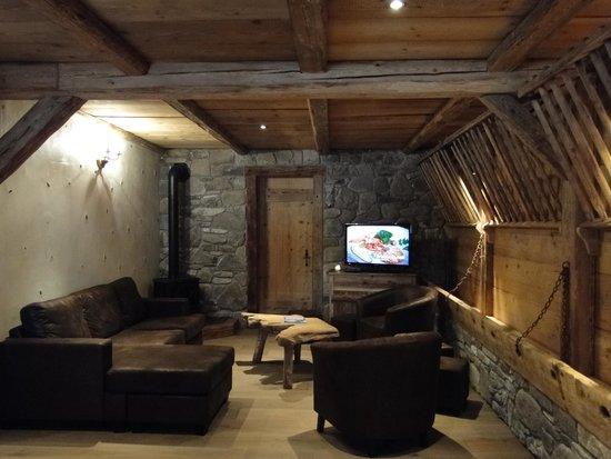 Chez La Fine : Salon