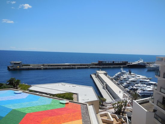 Fairmont Monte Carlo : View from our room