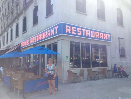 Tom's Restaurant : Had breakfast here this is a place where Seinfeld was going to based out of good breakfast nice
