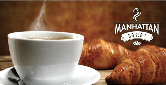 Manhattan International Bakery: Best coffee in the area !