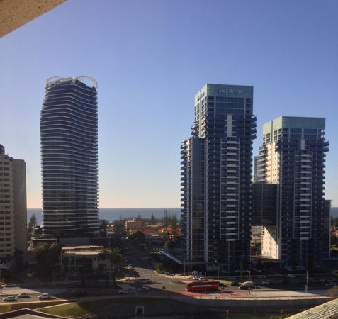 The Star Gold Coast: Morning view from our room