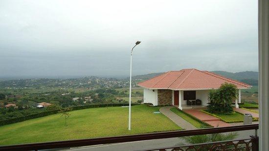 Hillary Nature Resort & Spa: Vista desde balcón