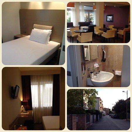 Smart Hotel Holiday: мой одноместный номер и общий вид отеля
