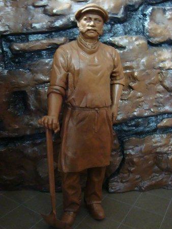Wedgwood Museum: Pottery Kiln Man