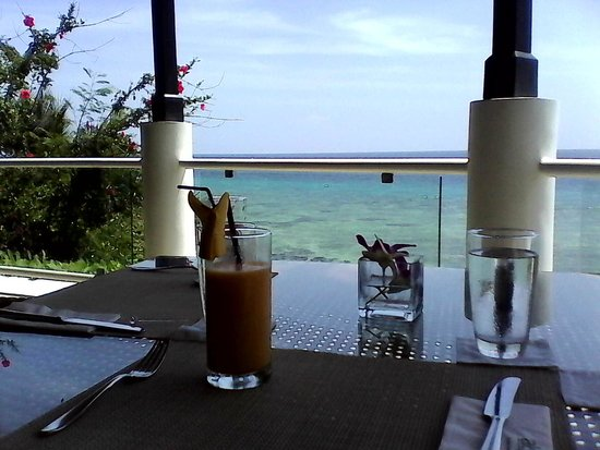 Alegre Beach Resort: View from the restaurant